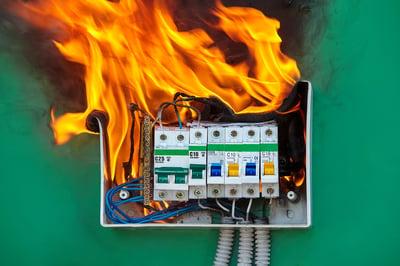 Electrical box_fire start