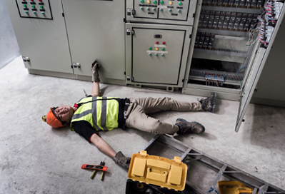 risks of electric shock electrical panel