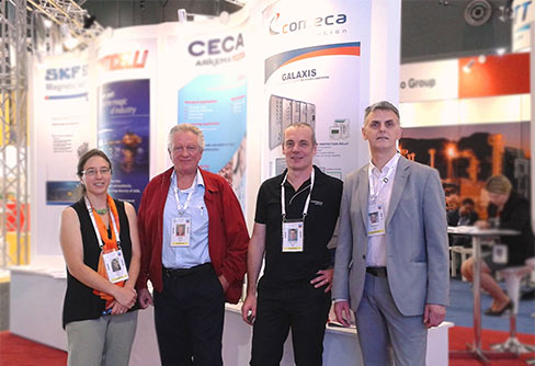 COMECA at LNG18 exhibition in Australia